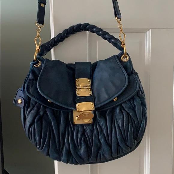 0aeb024ac6bb Miu Miu Crossbody Bag  Price is Firm